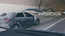 Mysterious Hyundai i20 test mule spied in South Korea