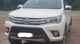 New Toyota Hilux spotted in India