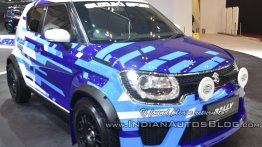 Maruti Ignis based Suzuki Ignis Rally Concept showcased at GIIAS [Video]