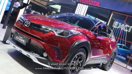 Spied in India, Toyota C-HR TRD showcased at the GIIAS 2018