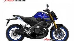 2019 Yamaha Xabre 150 (2019 Yamaha M-Slaz) rendered by Motoblast