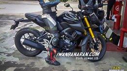 New 2019 Yamaha Xabre 150 (Yamaha M-Slaz) spy images come from Indonesia
