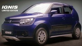 Maruti Ignis Limited Edition launched with styling enhancements