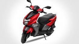 TVS Ntorq 125 breaches 1 lakh sales mark, gains 'Metallic Red' option
