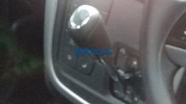 Mahindra KUV100 NXT AMT variant spied testing in Mumbai