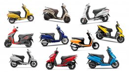 Top 10 Best-selling scooters in India in 2018 - Honda Activa to TVS Ntorq 125
