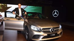 2018 Mercedes C-Class (facelift) launched in India at INR 40 lakhs