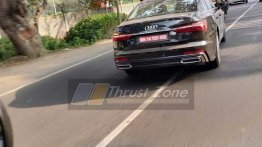 Eighth generation 2018 Audi A6 spotted testing in India