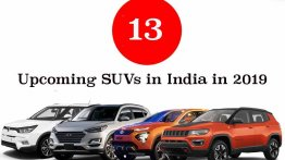 13 Upcoming SUVs in India in 2019 - Tata Harrier to new Renault Duster