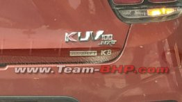 Mahindra KUV100 NXT diesel autoSHIFT AMT spied sans camouflage