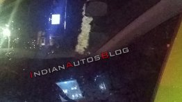 2019 Hyundai Santro (Hyundai AH2) spotted with reverse camera & touchscreen