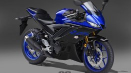 2019 Yamaha R25 (new Yamaha R3) rendered in 5 colour options