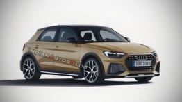 2019 Audi A1 Allroad - IAB Rendering
