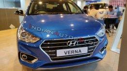 Hyundai Verna Anniversary Edition - In 19 Live images