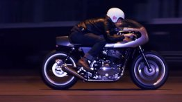 Custom Royal Enfield Continental GT 650 'Rohini' by Young Guns Speed Shop [Video]
