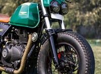 Custom Royal Enfield Himalayan 'Glory 411' is a desi British Cafe Racer