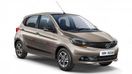 Tata Tiago XZ+ with projector headlamps & 15-inch alloy wheels - Rendering