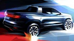 Volkswagen's 'anti-Fiat Toro' small pickup to be called the VW Tarok?