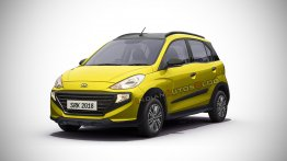 Hyundai Santro Cross (Tata Tiago NRG rival) - IAB Rendering [Video]