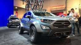Modified Ford Ecosport with wide body kit unveiled at SEMA 2018