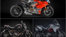 Ducati Multistrada 950 S Ducati Monster 821 Stealth Ducati Panigale V4 S Corse EICMA 2018