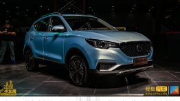 India-bound MG E ZS showcased at the Guangzhou Auto Show