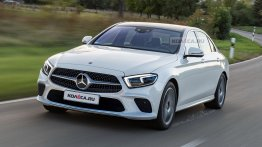 Russian media envisage the 2020 Mercedes E-Class (facelift) - Rendering