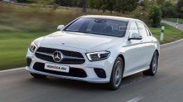 Russian media envisage the 2020 Mercedes E-Class (facelift) - Rendering