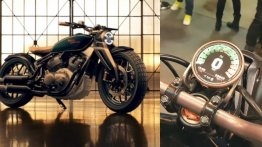 Royal Enfield KX Bobber gets single-sided swingarm & smartphone connectivity [Video]