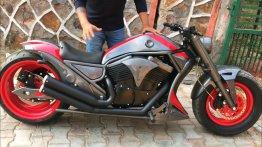 Wannabe Harley Davidson V-Rod is a Bajaj Avenger 220 underneath [Video]