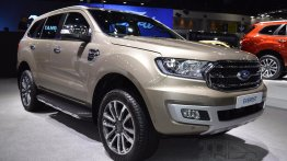 2019 Ford Everest (2019 Ford Endeavour) displayed at 2018 Thai Motor Expo