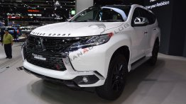Mitsubishi Pajero Sport Elite Edition at 2018 Thai Motor Expo - Live