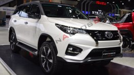 Toyota Fortuner TRD Sportivo 2 at 2018 Thai Motor Expo - Live