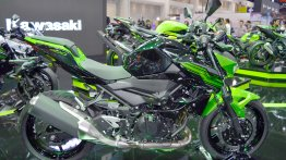 India-bound Kawasaki Z400 at the Thai Motor Expo 2018 - Live