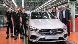 2019 Mercedes B-Class enters series production in Germany