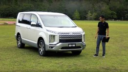 2019 Mitsubishi Delica D:5 exterior and interior detailed in walkaround videos