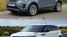 2019 Range Rover Evoque vs. 2015 Range Rover Evoque - Old vs. new
