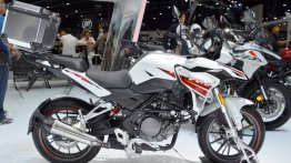 India-bound Benelli TRK 251 at the Thai Motor Expo 2018 - Live
