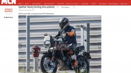 Husqvarna 801 Scrambler (KTM 790 Adventure based) spied testing in Europe
