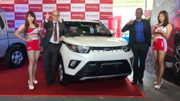 India-made Mahindra KUV100 launched in Taiwan