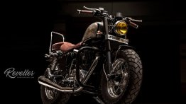 'Reveller' by Eimor Customs is a fully transformed Royal Enfield Thunderbird