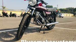 Check out this IAB reader's neatly restored RD-themed Yamaha RX100