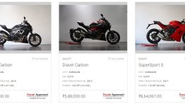 Ducati enters pre-owned bike segment in India