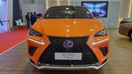 Lexus NX F Sport showcased at the Autocar Performance Show 2018