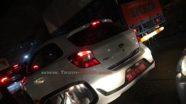 Ford Figo 'Blu' (facelifted Ford Figo CNG) spotted on test