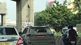 Mahindra S201 spotted during final testing, to go on sale next month