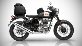 Royal Enfield Classic 500 'Scrambler' launch in March 2019 - Report