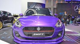 Stanced custom Suzuki Swift - Motorshow Focus