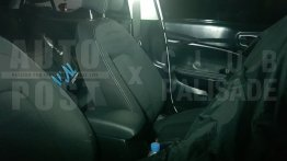 Hyundai Styx (Hyundai QXi) interior partially revealed in latest spy images