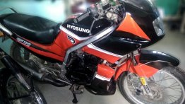 Meet a rare Kinetic Hyosung Laser GF170 that's come back to life